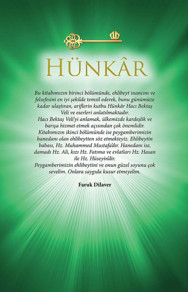 Hünkar Hacı Bektaş Veli Arka Kapak